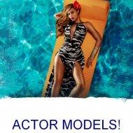 Dish Magazine Actor Models
