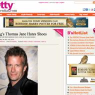 Hung's Thomas Jane Hates Shoes