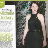 Five Minutes with Michelle Dockery
