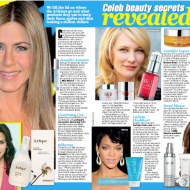 Celeb beauty secrets revealed