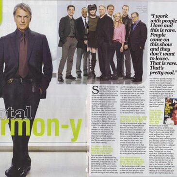 Total Harmon-y Mark Harmon Interview  TV Soap