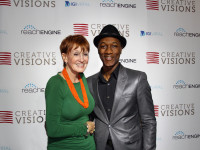 Kathy Eldon and Aloe Blacc