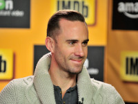Joseph Fiennes Smiles IMDB @Amazon Instant Video Studio. Jerod Harris/Getty