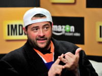 Kevin Smith at IMDB and Amazon Instant Video Studio. Jerord Harris/Getty