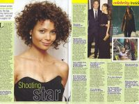 Shooting Star Thandie Newton The Slap  TV Soap