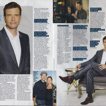 Scott Foley – The Hunk Factor </br> TV Soap Magazine