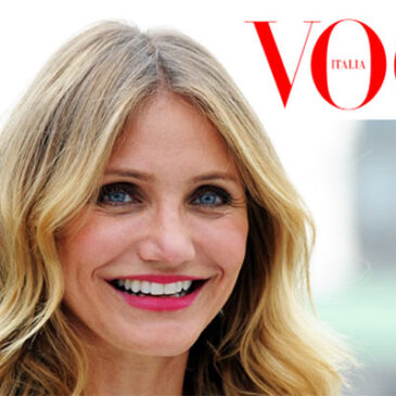 Cameron Diaz on her new book, healthy living, but on her wedding…Vogue Italia