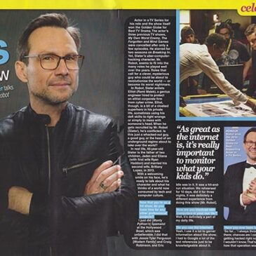 Bad Boys Can Mellow  – Christian Slater TV Soap