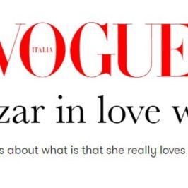 Debi Mazar in love with Italy</br>Vogue Italia