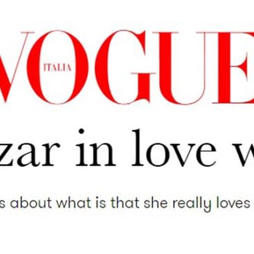 Debi Mazar in love with ItalyVogue Italia