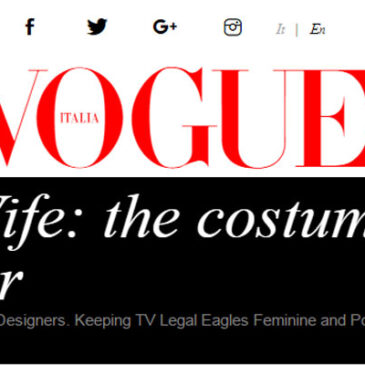The Good Wife: The Costume Designers Take the Floor</br>Vogue Italia