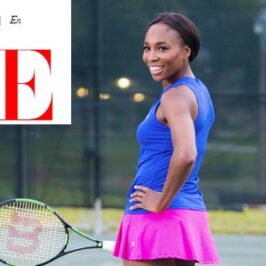 Venus Williams: tennis, fashion and design</br>Vogue Italia