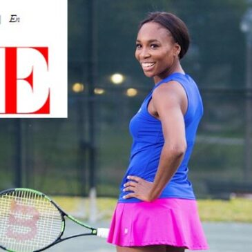 Venus Williams: tennis, fashion and design</br>Vogue Italia