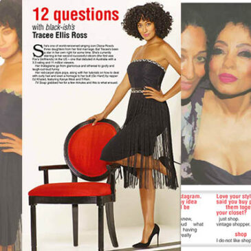 12 Questions with black-ish's Tracee Ellis Ross TV Soap