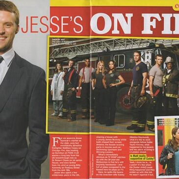 Jesse's on FireJesse Spencer TV Soap