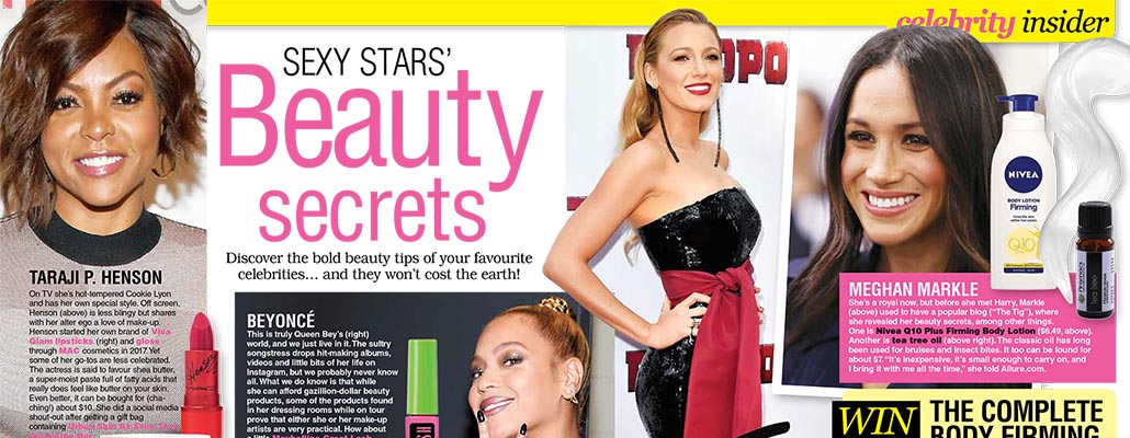 Sexy Stars' Beauty Secrets</br>TV Soap