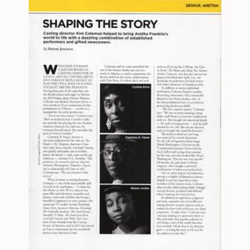 Shaping the Story-Aretha Franklin  Emmy  Magazine